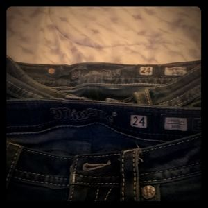 Miss me size 24 jeans bootcut.